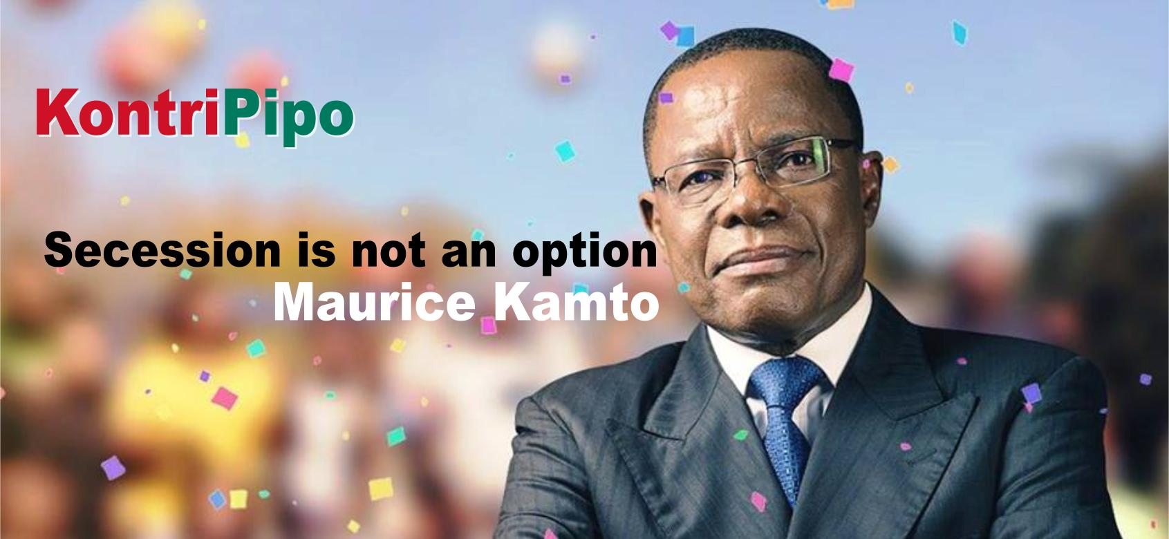 maurice Kamto says Secession is not an option