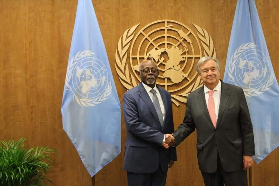 At the UN - Minister of Ext. Relations